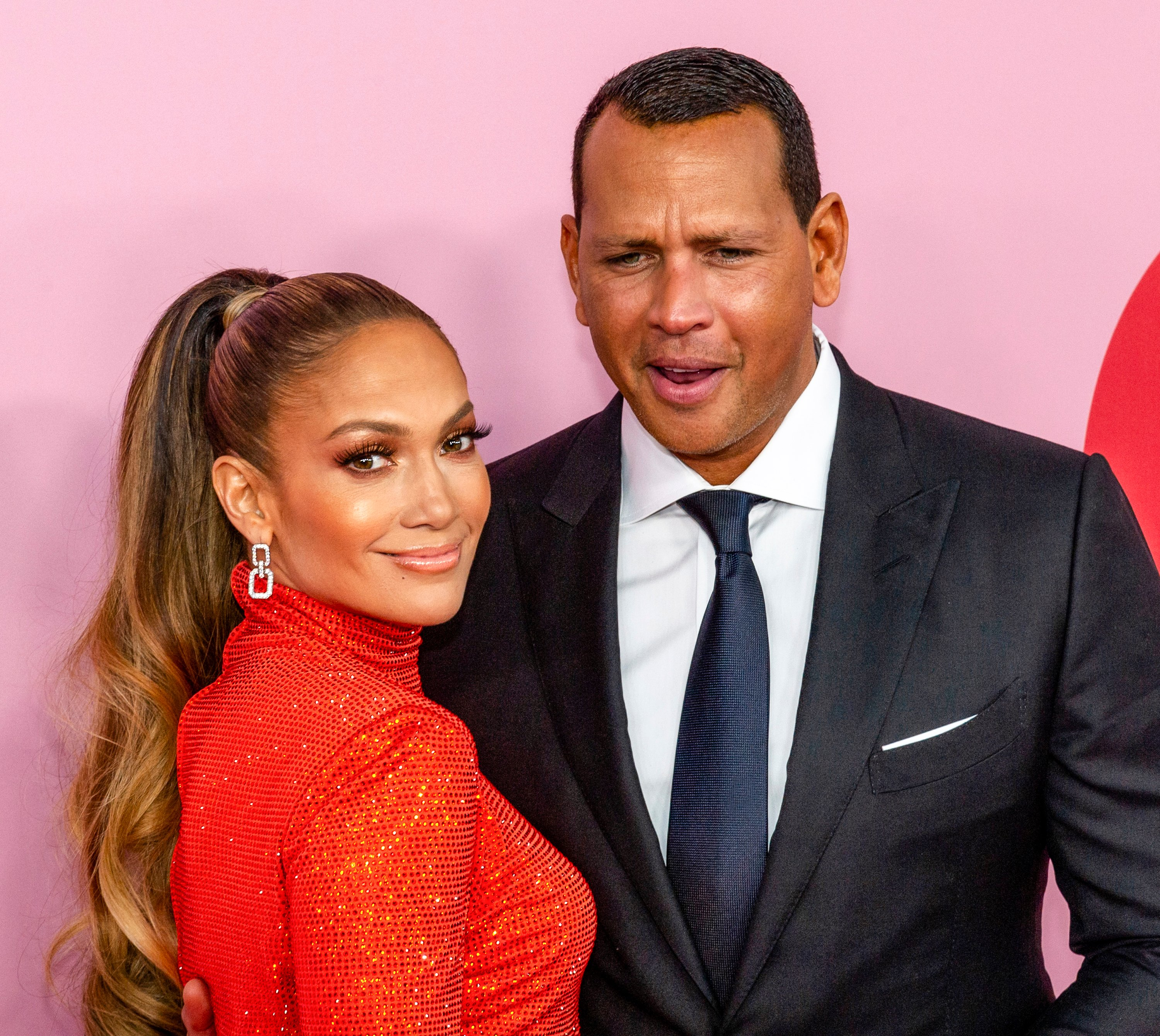 Jennifer Lopez and fiance, Alex Rodriguez at the 2019 CFDA Fashion Awards held at Brooklyn Museum. | Photo: Shutterstock.