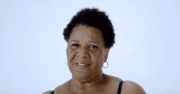 Alice Marie Johnson on the SKIMS campaign. | Source: YouTube/SKIMS.