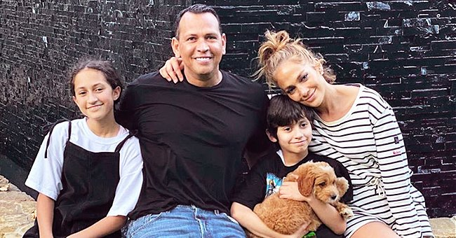 Jennifer Lopez and Alex Rodriguez Adopt New Puppy for Her 12-Year-Old Son Maximilian