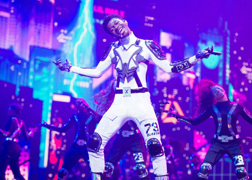 Lil Nas X performs onstage during the 2019 MTV Video Music Awards, August 2019 | Source: Getty Images