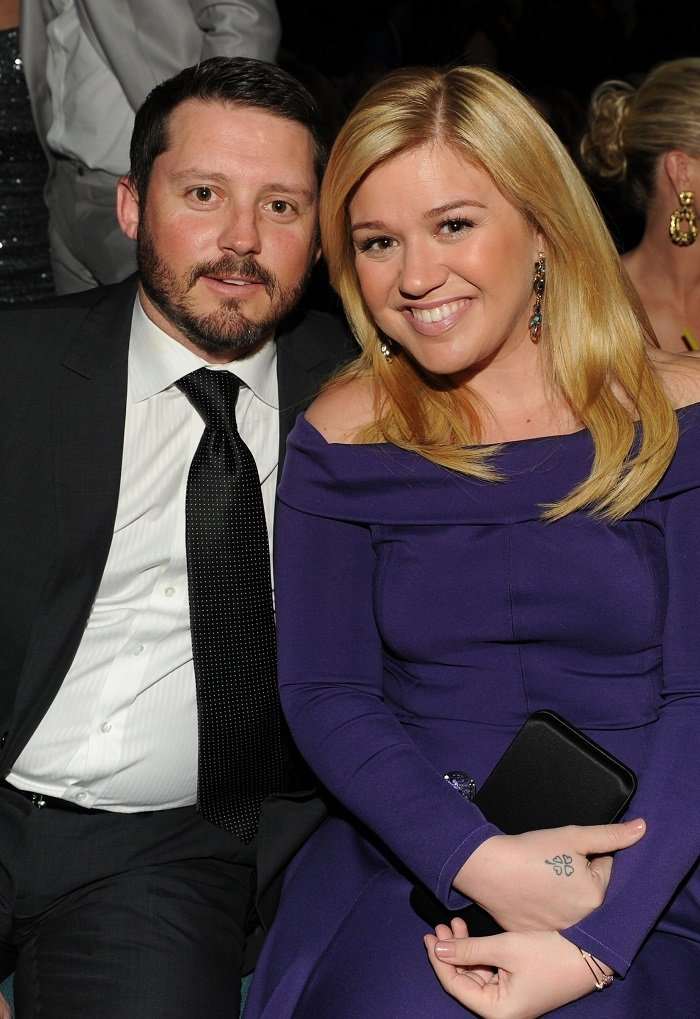 Kelly Clarkson and Brandon Blackstock I Image: Getty Images