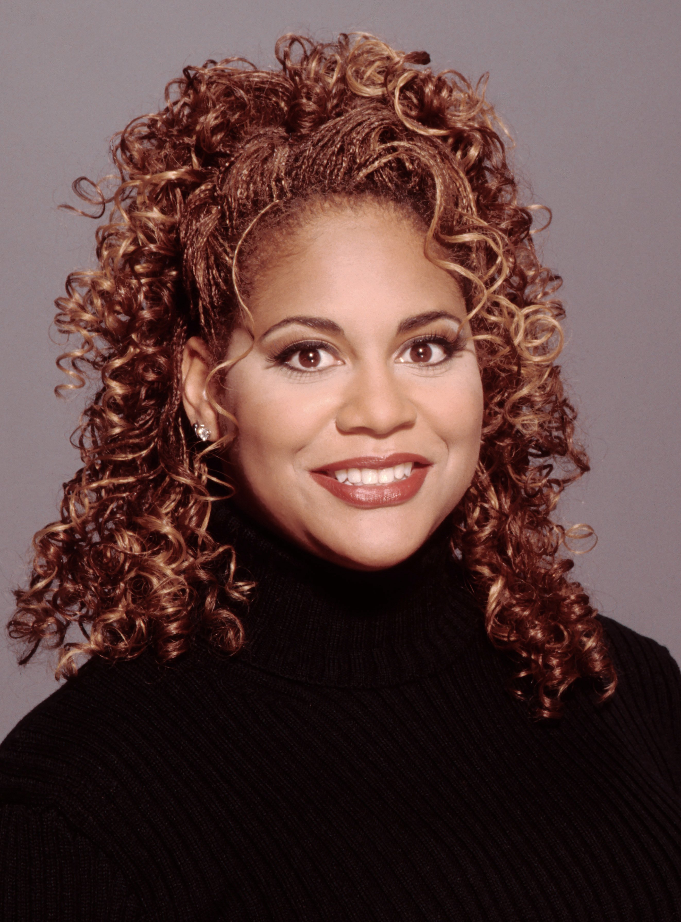Actress Kim Coles poses for a portrait in 1997 in Los Angeles, California.   Photo by Harry Langdon/Getty Images