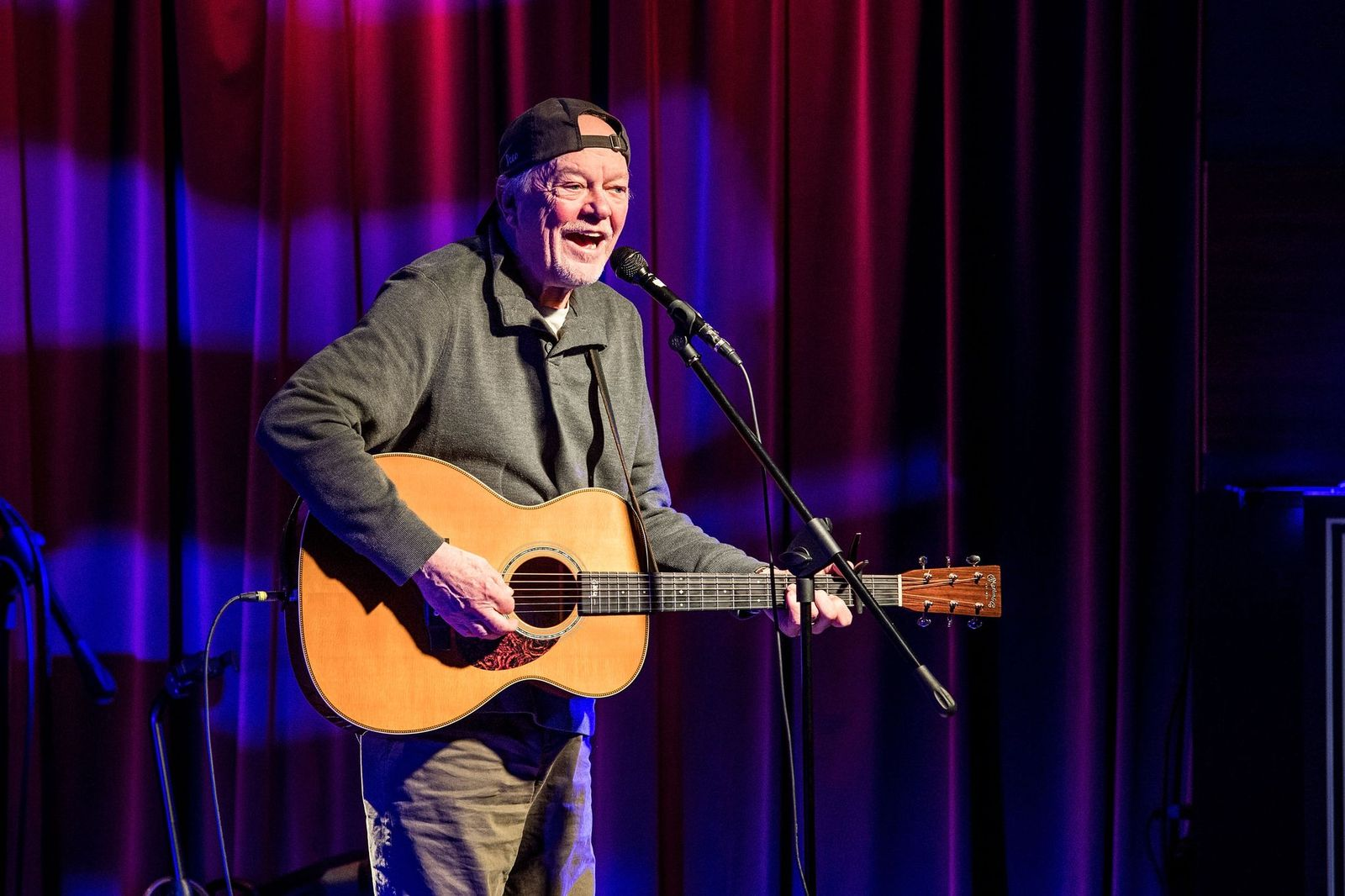 Rusty Young performs at The GRAMMY Museum on February 8, 2018 | Getty Images