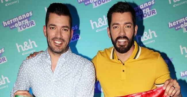 JD Scott Posts Pic with 'Property Brothers' Stars Jonathan and Drew & Fans Love It