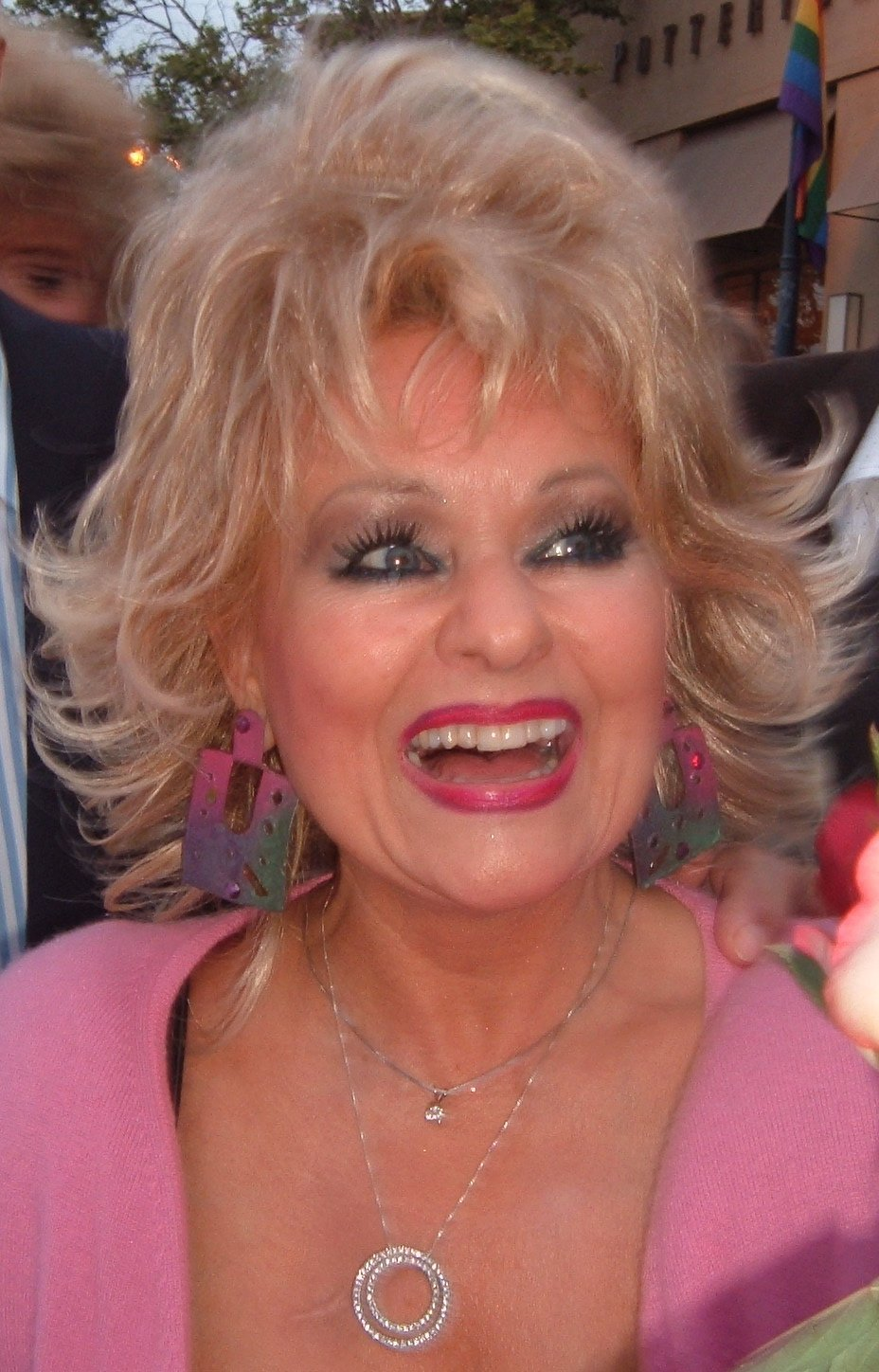 Tammy Faye Messner pictured on April 14, 2004 | Photo: Darwin Bell, CC BY 2.0 via Wikimedia Commons