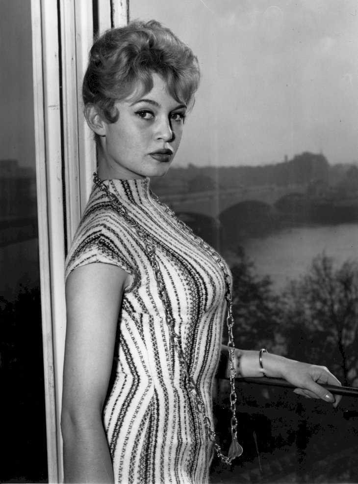 Brigitte Bardot en octobre 1956. | Photo : Getty Images