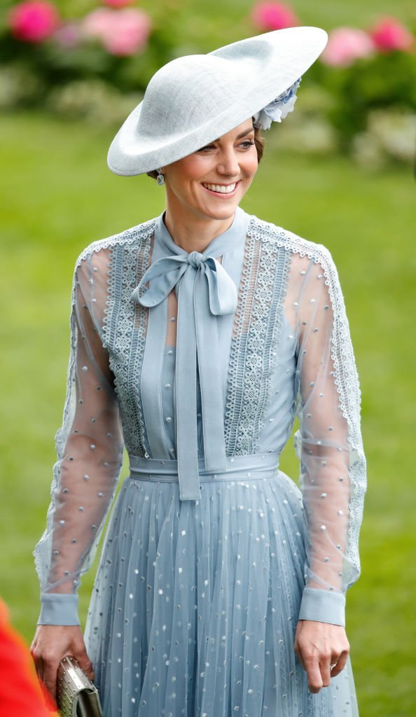 Catherine, Duchess of Cambridge attends day one of Royal Ascot at Ascot Racecourse | Photo: Getty Images