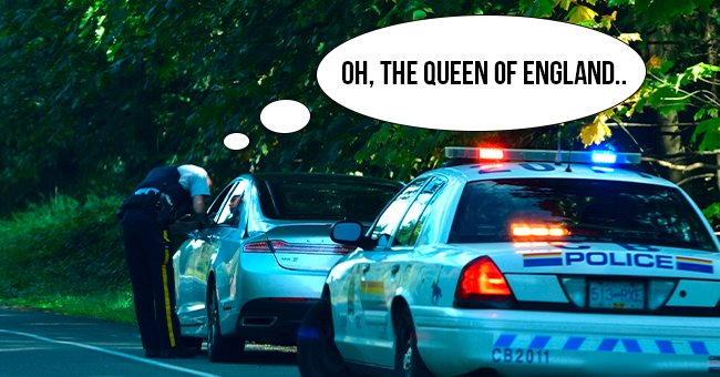 Daily Joke: Police Stopped a Vehicle Driven by the Queen of England