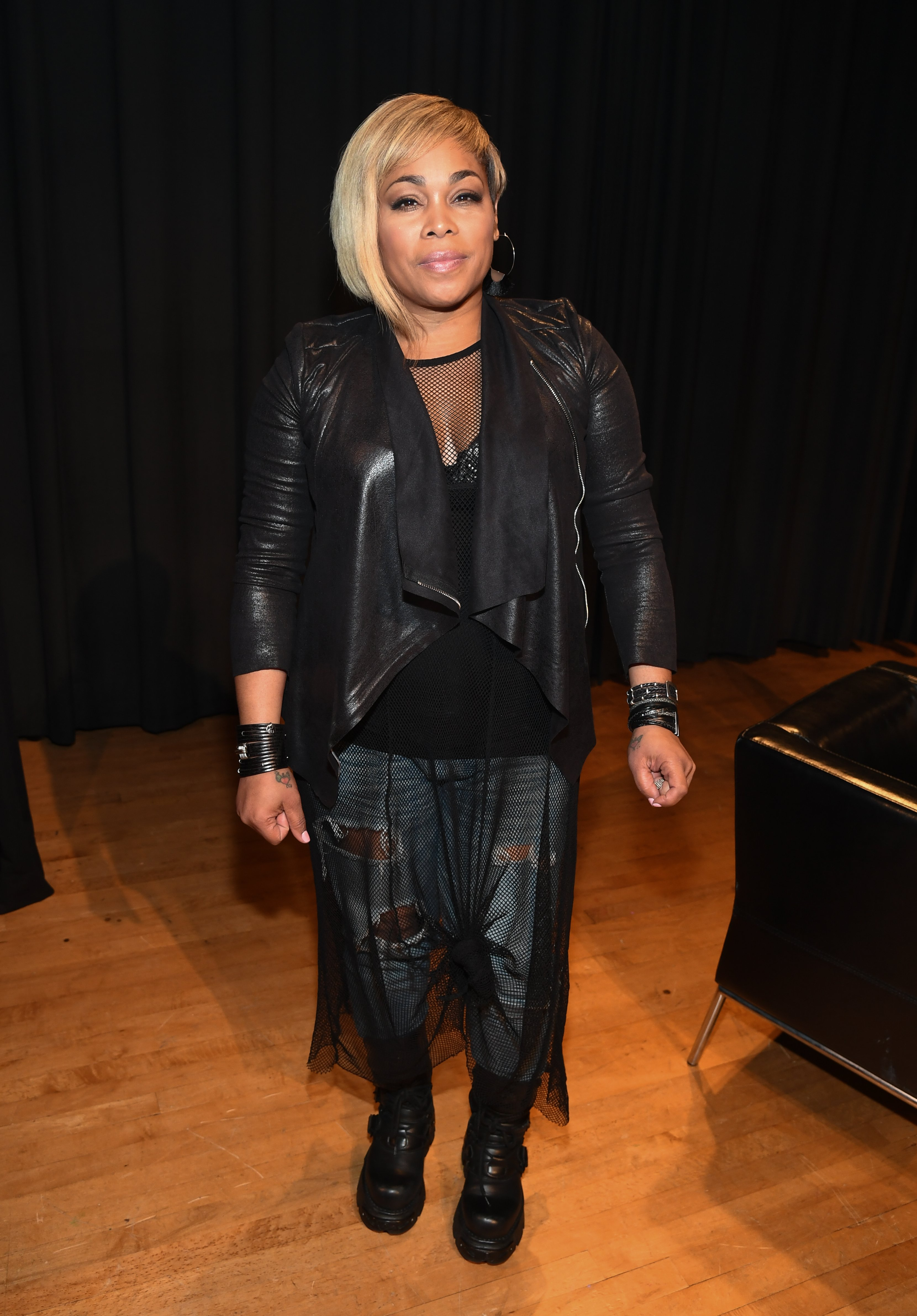 T-Boz on October 9, 2017 in Atlanta, Georgia | Source: Getty Images/Global Images Ukraine
