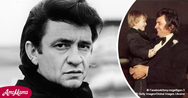 Johnny Cash's adult grandson shows off a voice almost as powerful as his grandfather's