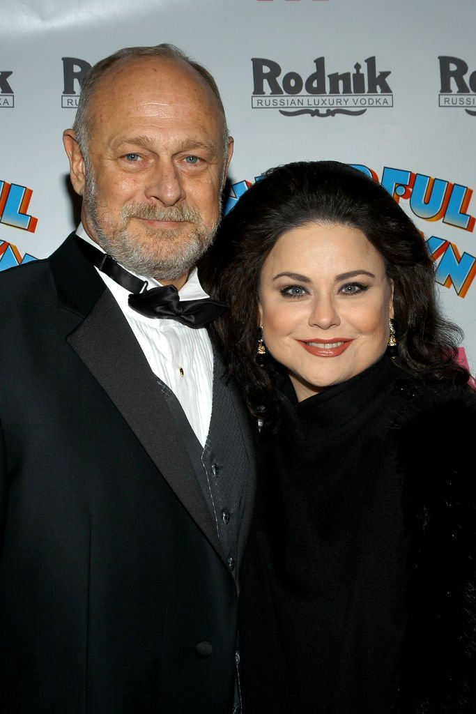 Gerald McRaney and Delta Burke on November 23, 2003 in New York City | Source: Getty Images