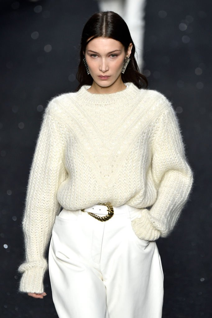 Bella Hadid au défilé à Milan, le 20 février 2019. Photo : Getty Images