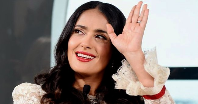 Salma Hayek Posts a Rare Photo Spending Time with Her Husband François-Henri Pinault in Italy