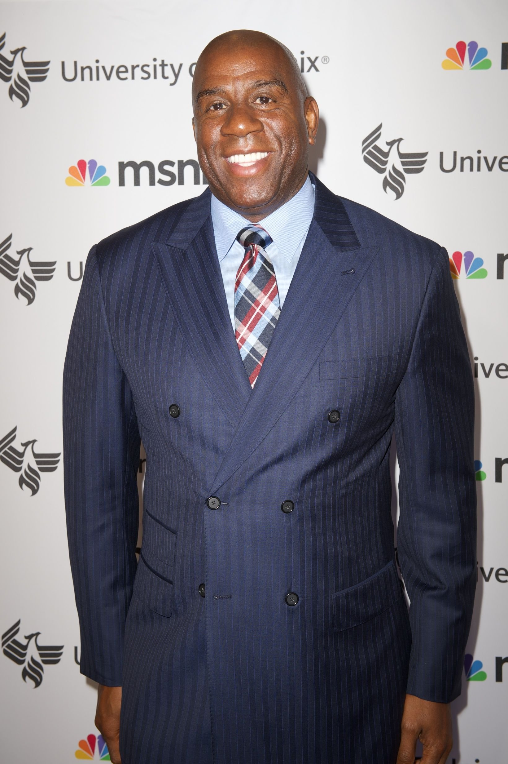 A picture of NBA legend Magic Johnson | Photo: Getty Images