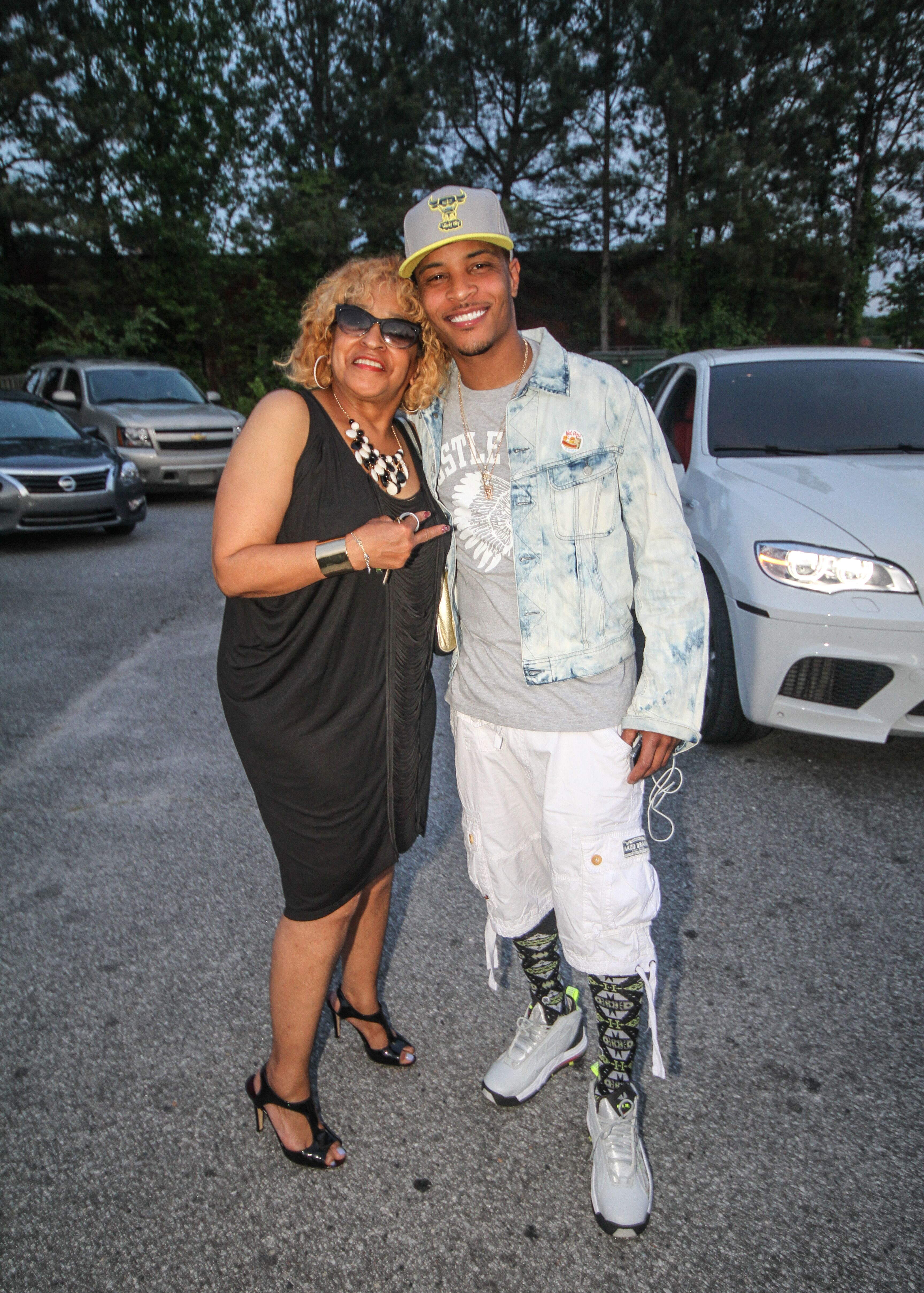 A portrait of T.I. and Precious Harris at parking lot | Source: Getty Images/GlobalImagesUkraine