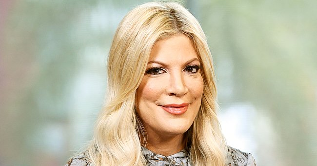 Tori Spelling Shows off Her Figure in a Bikini Top During Family Outing With Daughter Stella