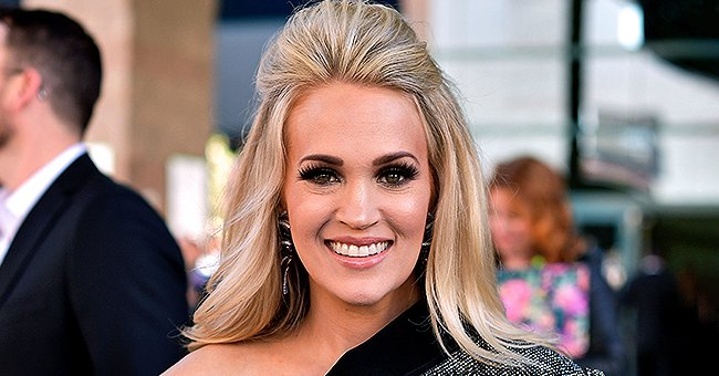 Carrie Underwood Shed Tears On Stage As She Accepted Platinum Album Award for 'Cry Pretty'