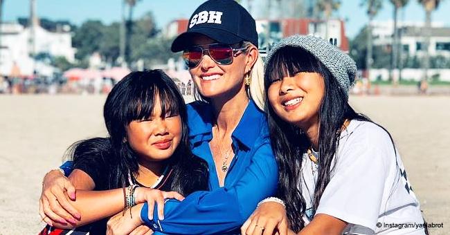 Une amie de Laeticia Hallyday montre sa première photo avec Jade et Joy après les critiques cruelles des fans