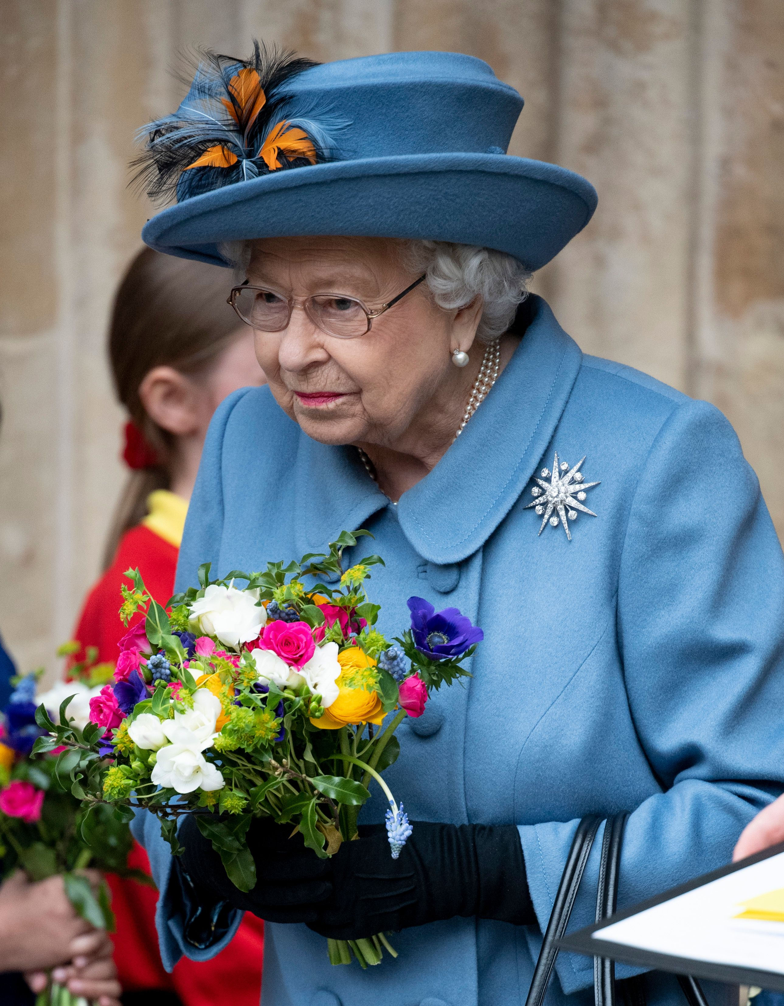 Queen Elizabeth II at the Commonwealth Day Service 2020 at Westminster Abbey on March 9, 2020.   Source: Getty Images.