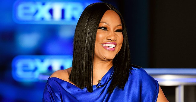 Garcelle Beauvais Sets Hearts Racing as She Flaunts a Strapless Santa Claus Outfit
