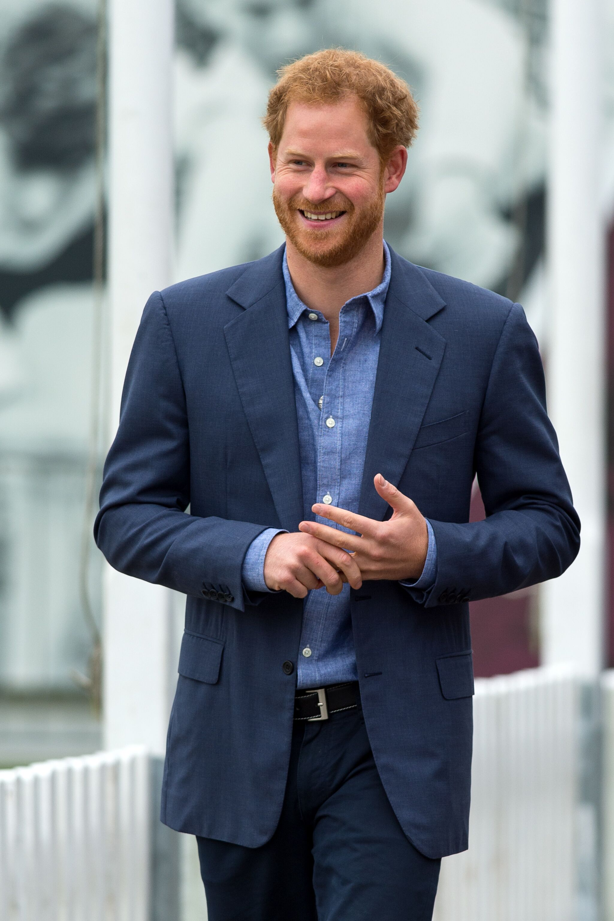 Prince Harry takes part in a training session during a celebration for the expansion of Coach Core at Lord's Cricket Ground. | Source: Getty Images