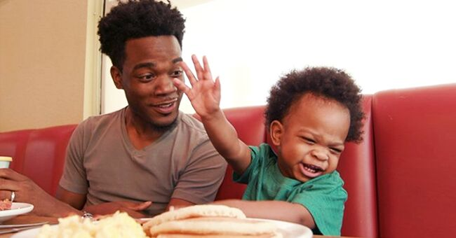 Father and Son from Viral 'Conversation' Video Featured in an Adorable Commercial
