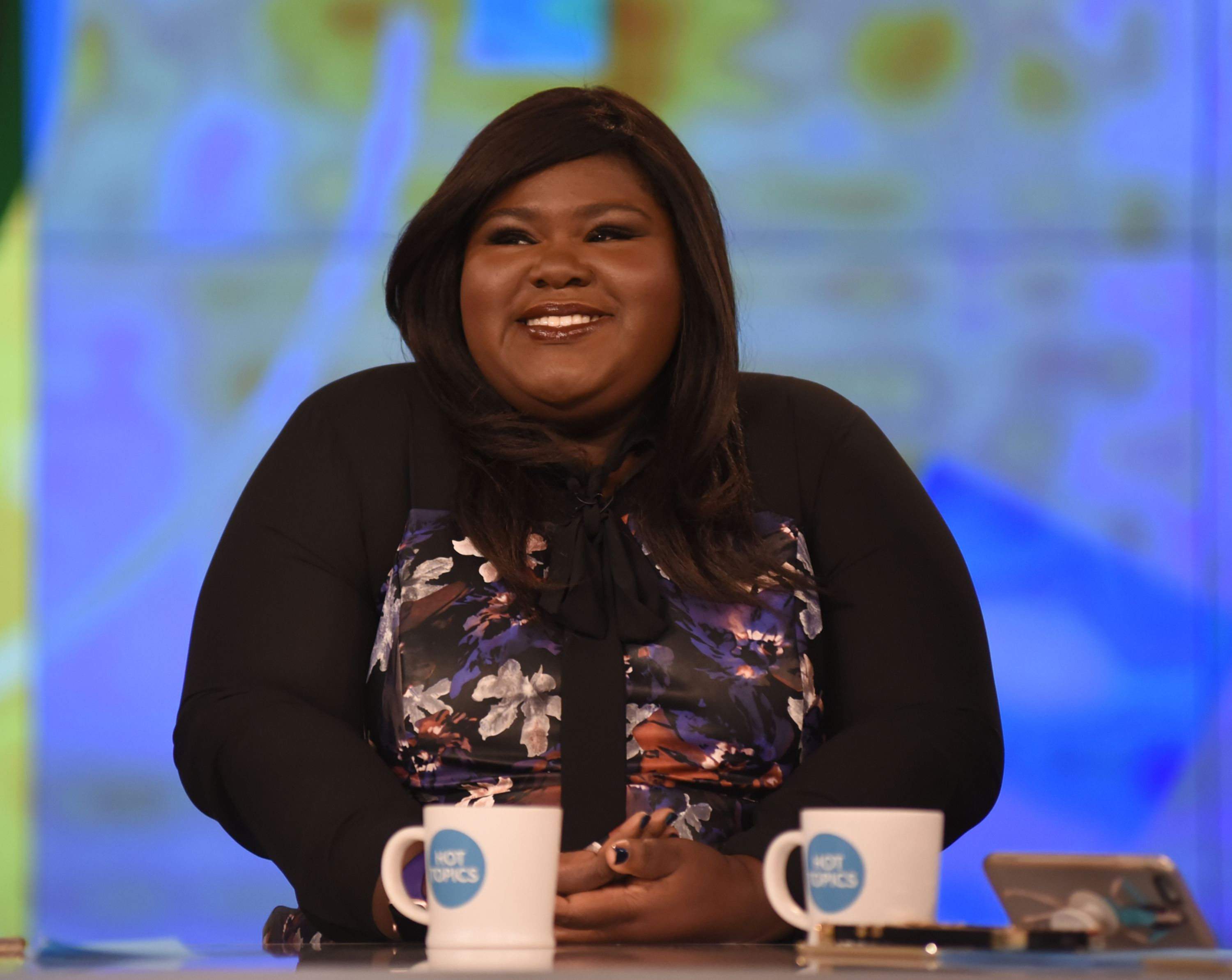 """Gabourey Sidibe appears as a guest on """"The View"""" on Tuesday, October 24, 2017   Source: Getty Images"""