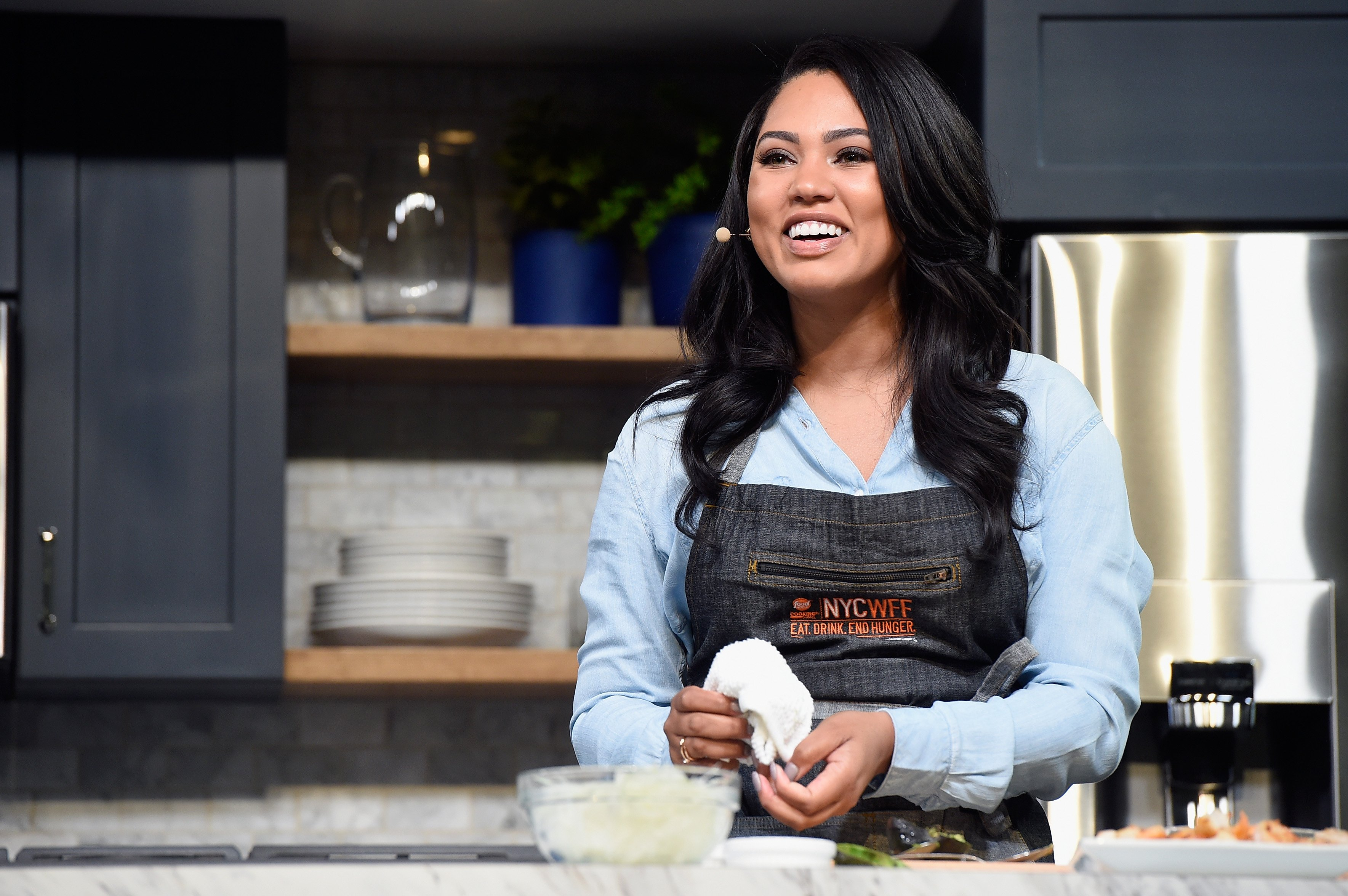 Ayesha Curry Food Network & Cooking Channel New York City Wine & Food Festival Presented By Coca-Cola October 15, 2017 | Photo: Getty Images