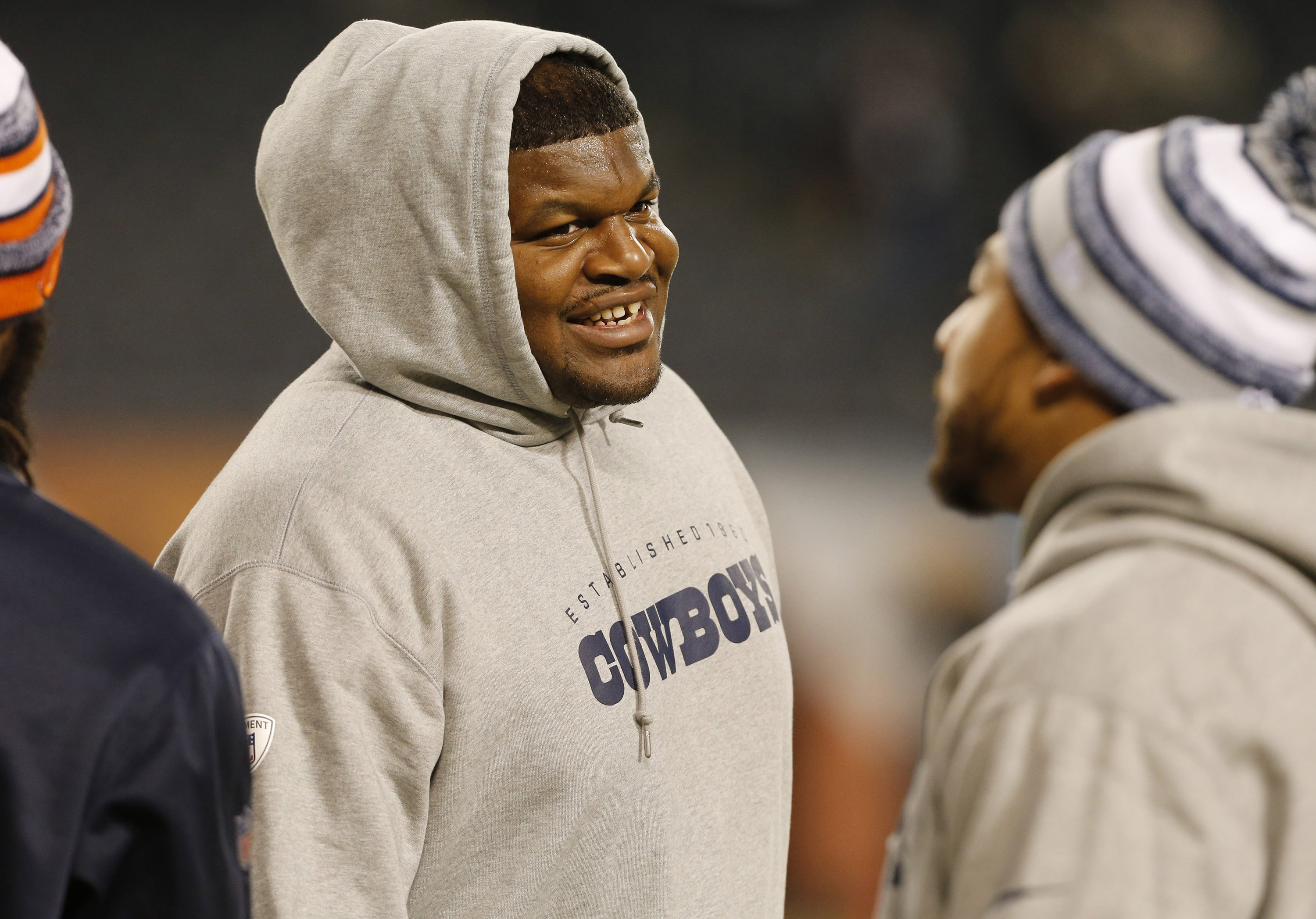 Josh Brent at Soldier Field in Chicago on Thursday, Dec. 4, 2014   Photo: Getty Images