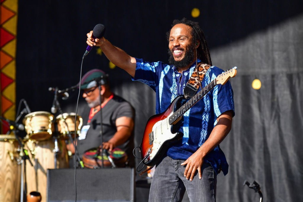 Ziggy Marley performs during the 2019 New Orleans Jazz & Heritage Festival 50th Anniversary at Fair Grounds Race Course | Photo: Getty Images