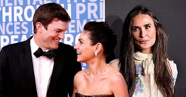 Ashton Kutcher & Mila Kunis écartent le passé après les révélations de Demi Moore