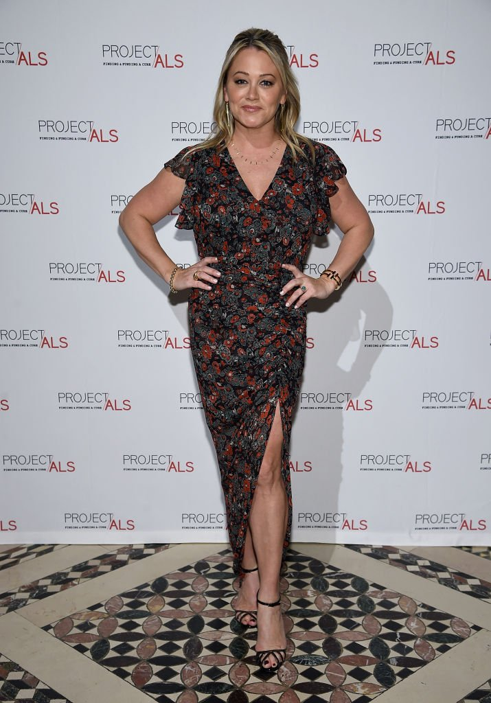 Christine Taylor attends The 2018 Project ALS Gala at Cipriani 42nd Street on October 24, 2018 in New York City. | Source: Getty Images