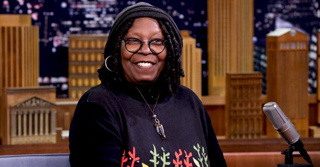 Whoopi Goldberg's Granddaughter Jerzey Looks Chic in Classic Pastel Suit in Photos with Brother
