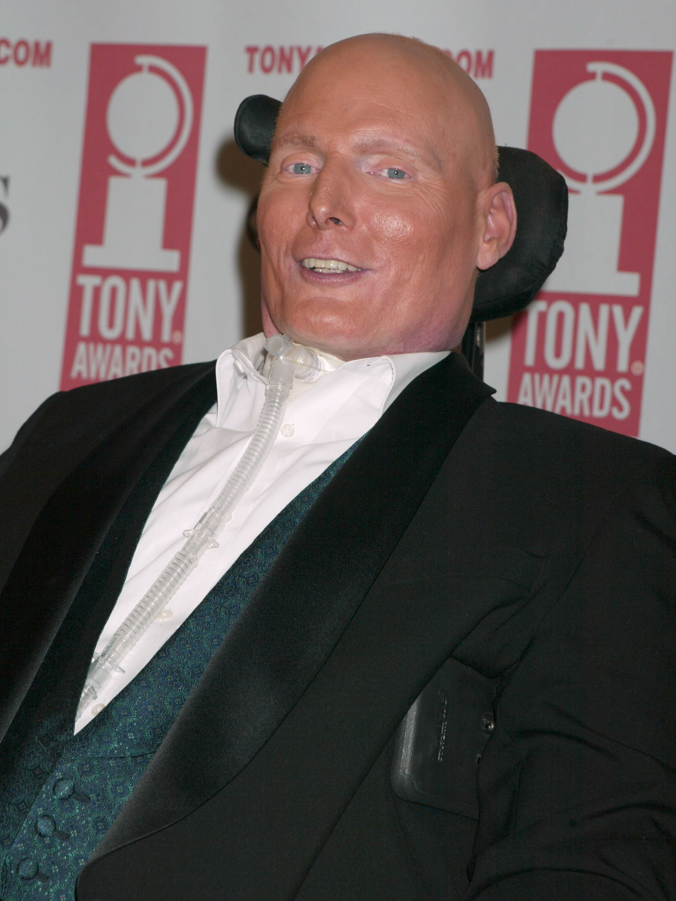 Chris Reeve at the 2003 TONY Awards  | Photo: Getty Images