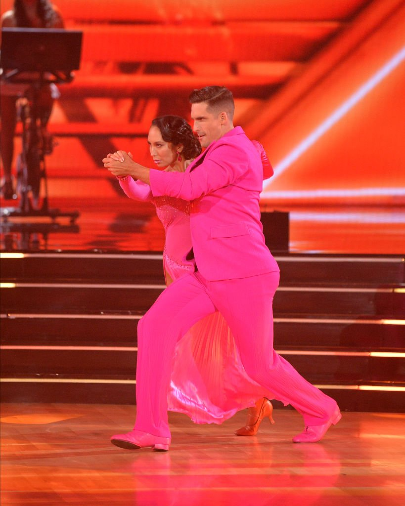 """Cheryl Burke and Cody Rigsby on the Season 30 premiere of """"Dancing with the Stars,"""" September 2021 