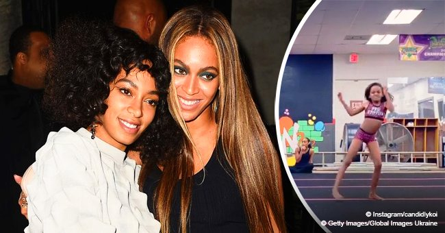 Beyoncé & Solange's little sister shows off bold dance moves in video