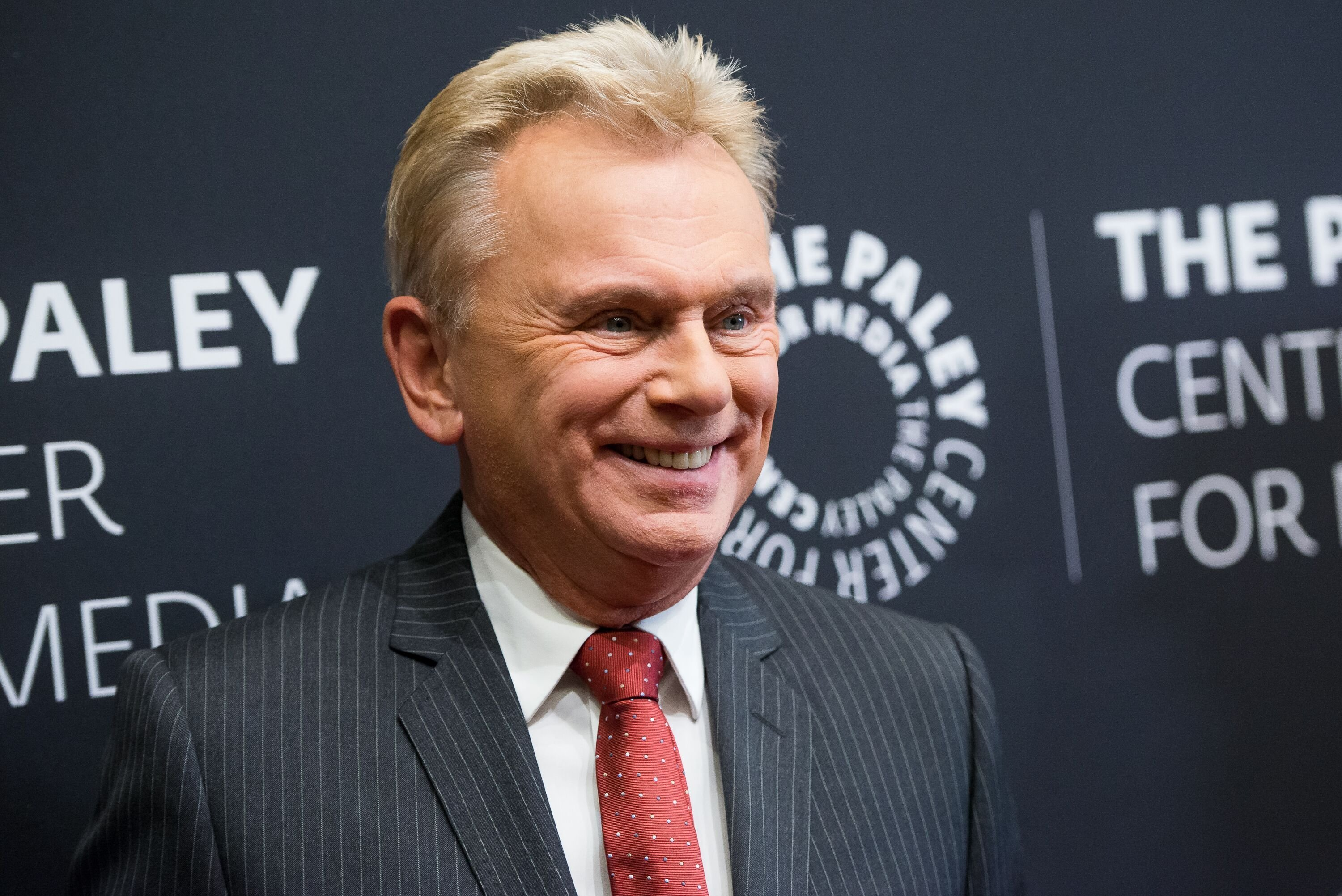 Pat Sajak at The Paley Center For Media Presents Wheel Of Fortune 35 Years As America's Game on November 15, 2017, in New York City | Photo: Mike Pont/Getty Images