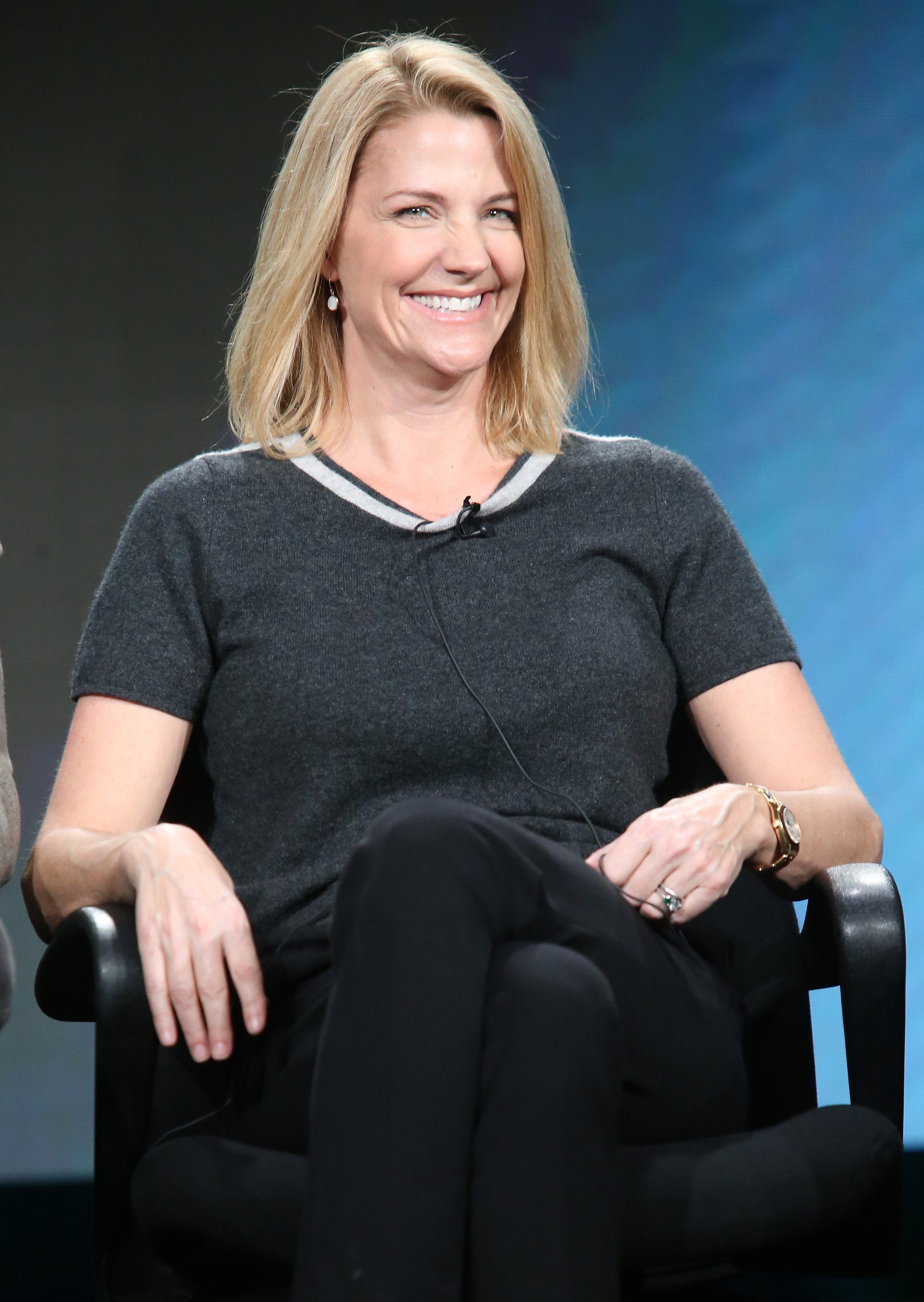 Nancy Carell during TBS's Angie Tribeca panel as part of the Turner Networks portion of This is Cable Television Critics Association Winter Tour at Langham Hotel on January 7, 2016 in Pasadena, California. | Photo: GettyImages