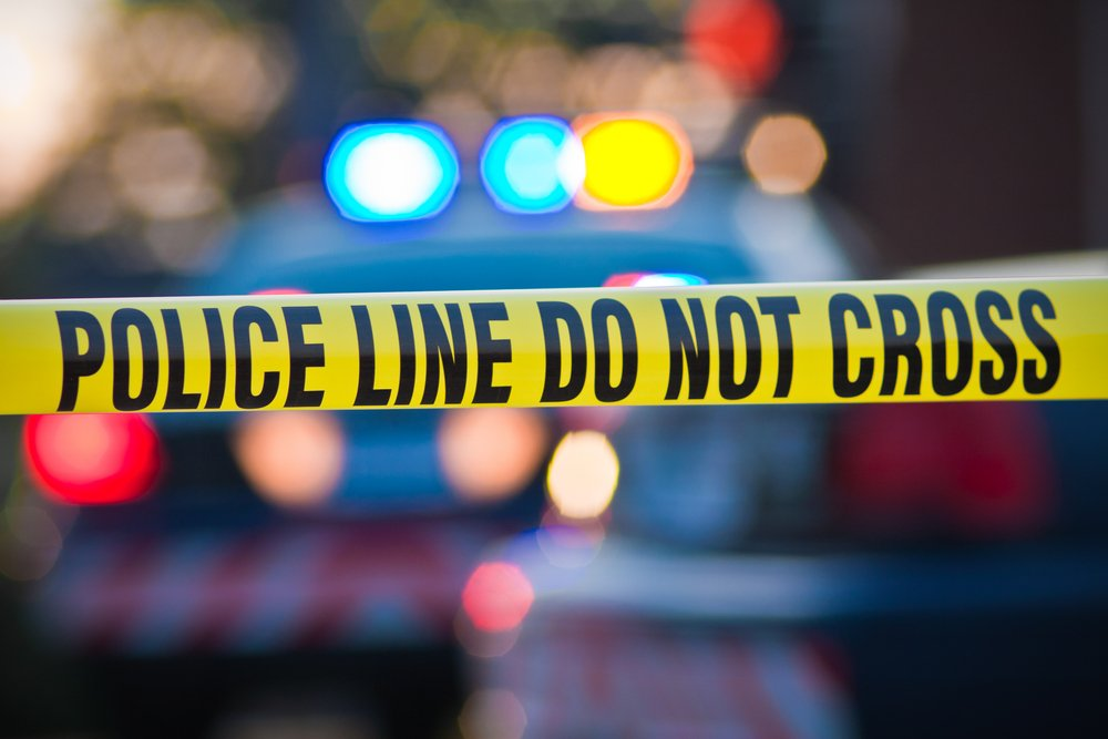 A photo of police vehicle lights at the scene of an incident.   Photo: Shutterstock