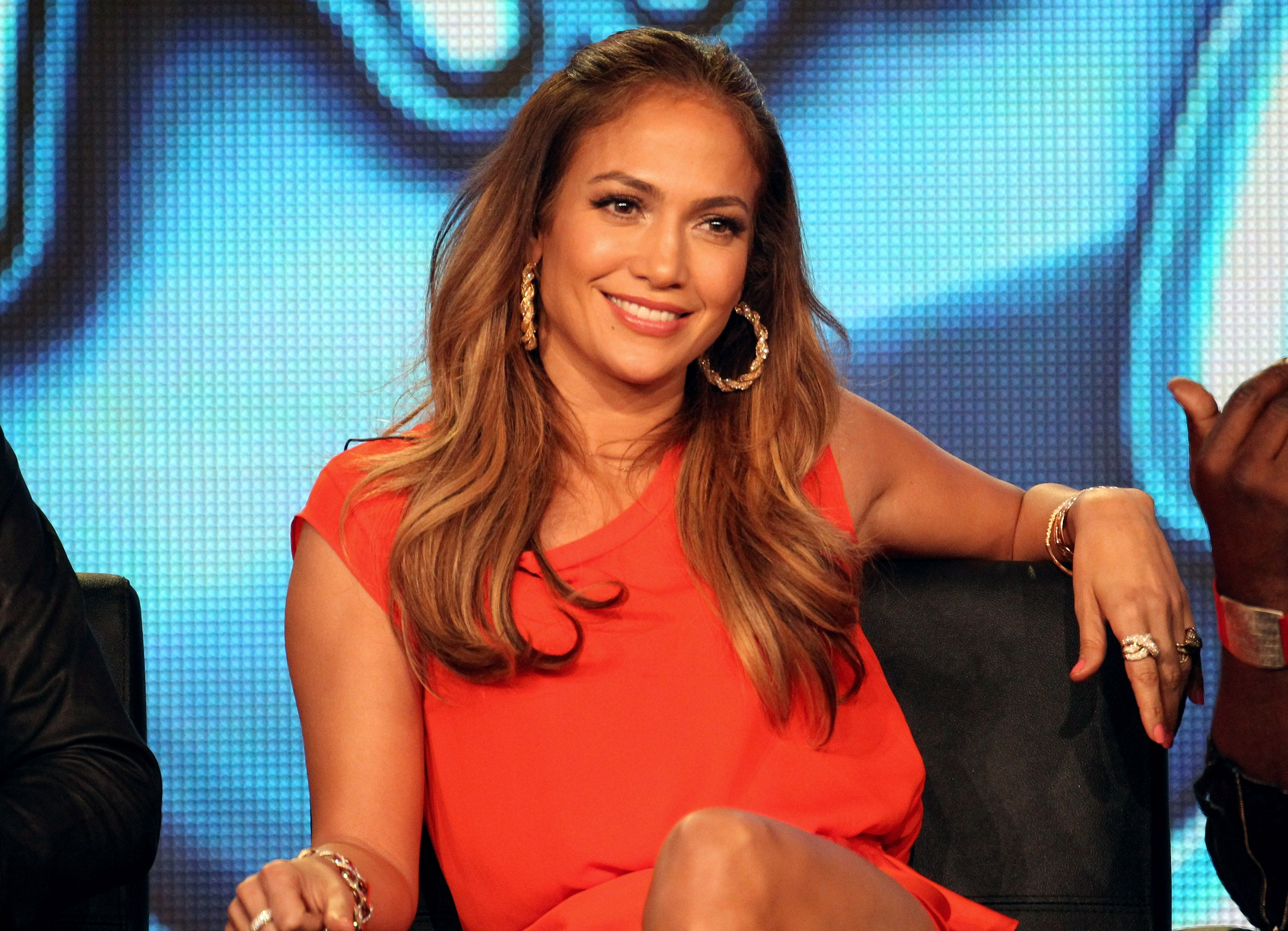 Jennifer Lopez on the 'American Idol' panel during the FOX Broadcasting Company portion of the 2012 Winter TCA Tour at The Langham Huntington Hotel and Spa on January 8, 2012 | Photo: Getty Images