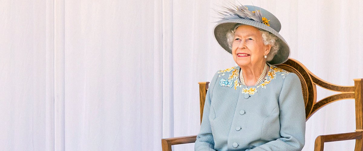 Queen Elizabeth Attends 'Scaled Back' Trooping the Colour with a Smile on Her Face