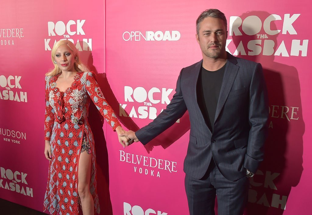 Lady Gaga and Taylor Kinney on October 19, 2015 in New York City | Source: Getty Images