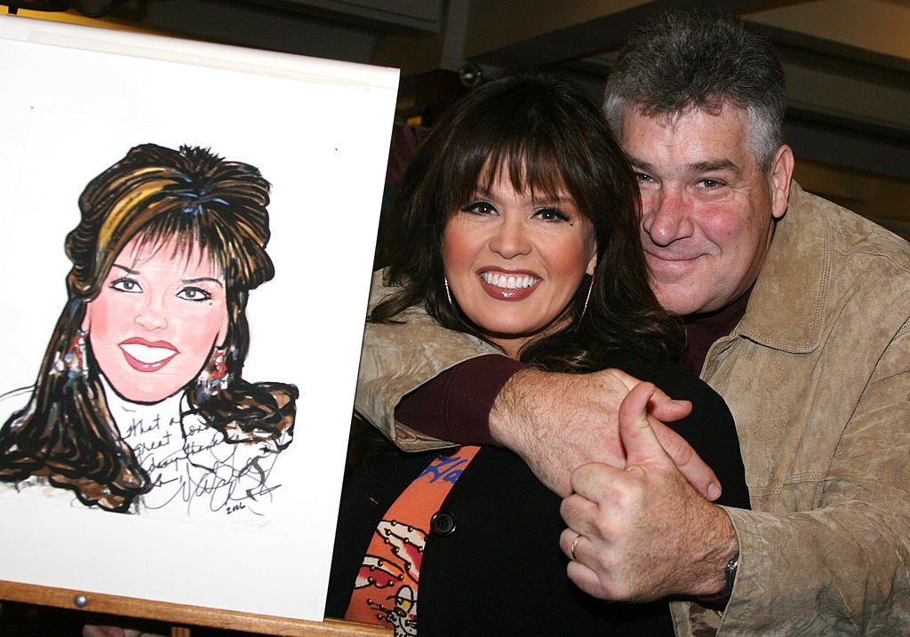 Marie Osmond and Brian Blosil during Marie's Honor with Caricatures at Sardi's in New York City October 2, 2006. | Photo: Getty Images