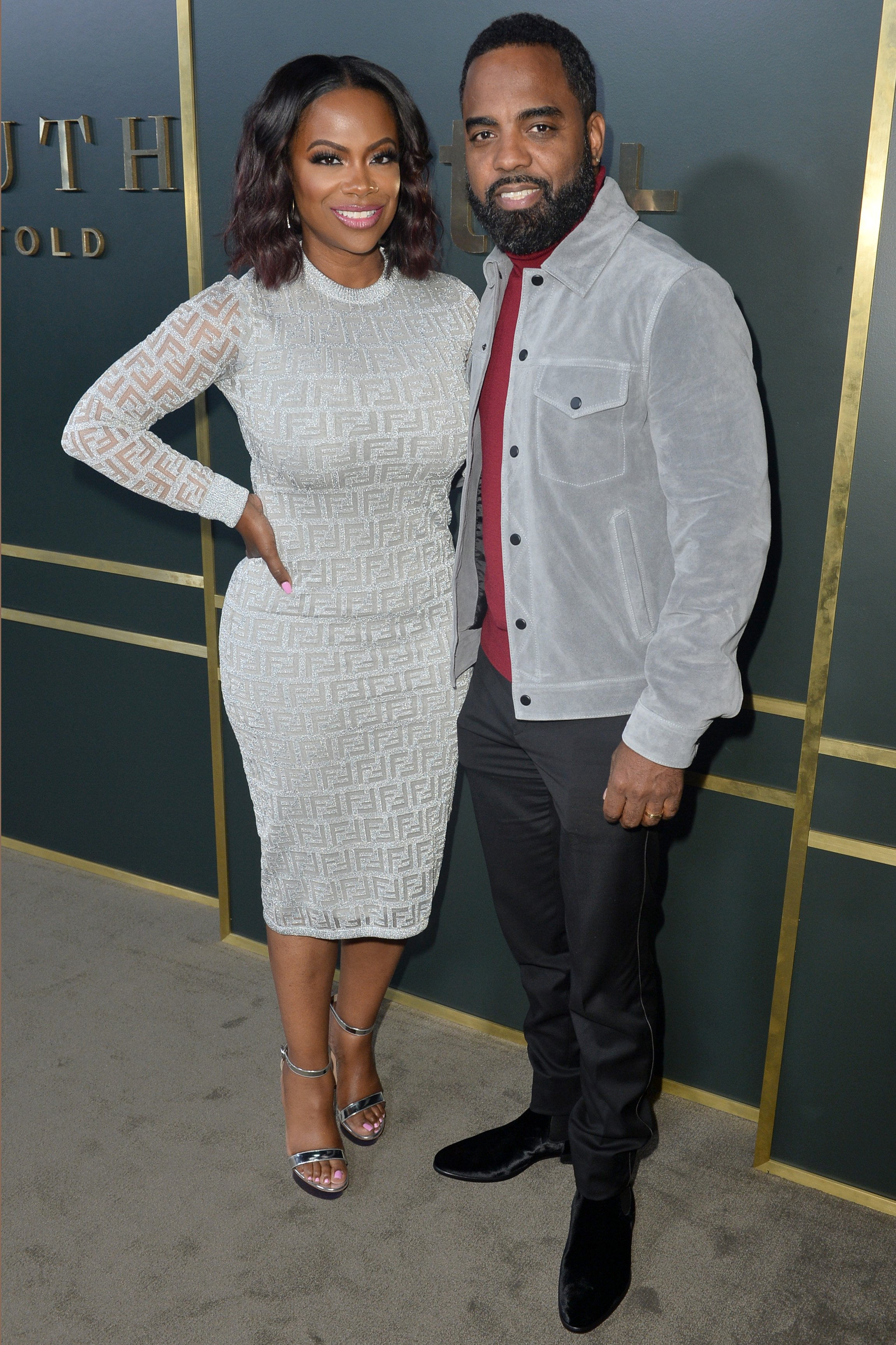 Kandi Burruss & Todd Tucker at the premiere of Apple TV+'s 'Truth Be Told' on Nov. 11, 2019 in California | Photo: Getty Images