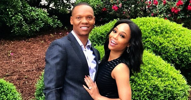RHOA Star Ronnie Devoe's Wife Shamari Slays in a Revealing White Cut-Out Gown with a High Slit
