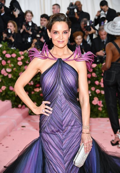Katie Holmes,  2019 Met Gala Celebrating Camp, New York, 2019 | Quelle: Getty Images