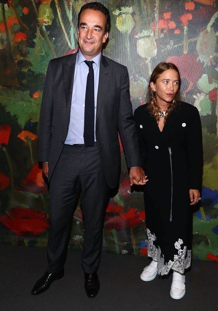 Olivier Sarkozy and Mary-Kate Olsen attend 2017 Take Home A Nude Art party and auction at Sotheby's | Getty Images / Global Images Ukraine