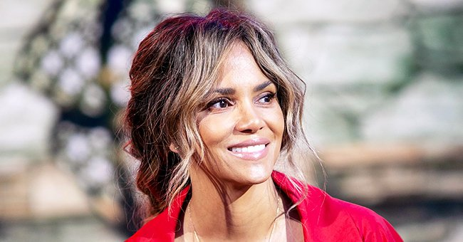 Check Out Halle Berry's Unique Back Tattoo as She Flaunts Her Figure in a Black Swimsuit