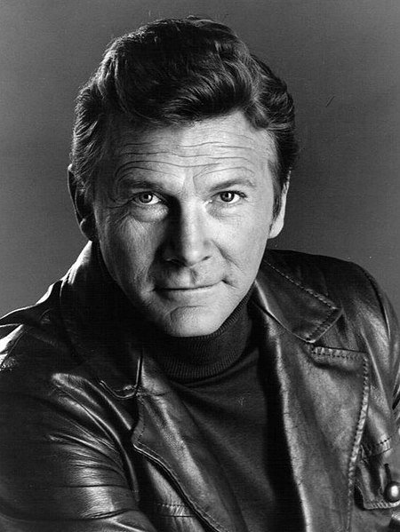 "Steve Forrest as Hondo Harrelson from the television program ""S.W.A.T."" 