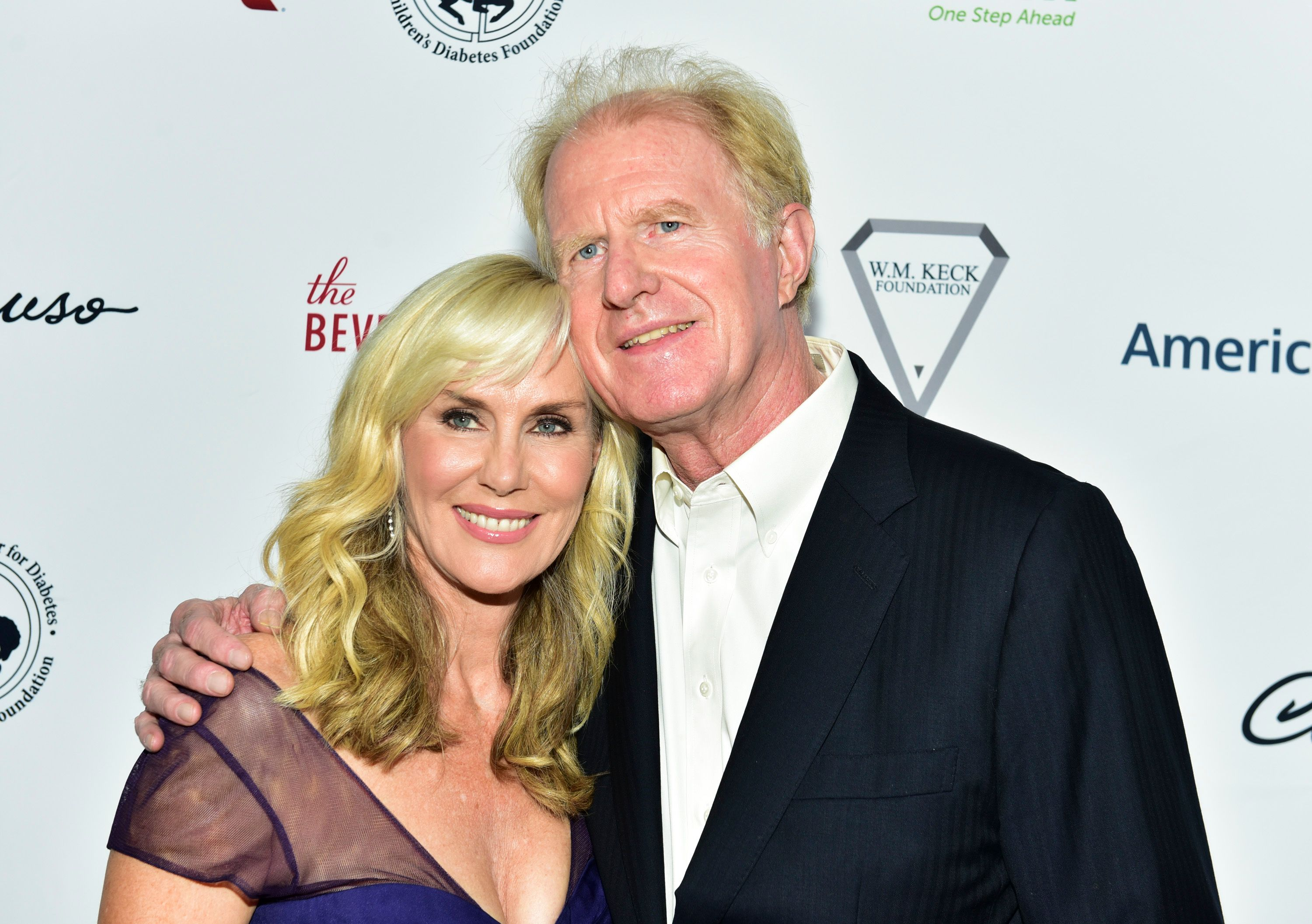 Ed Begley Jr. (R) and Rachelle Carson attend the 2018 Carousel of Hope Ball at The Beverly Hilton Hotel on October 6, 2018 in Beverly Hills, California.   Source: Getty Images